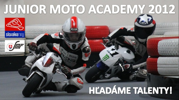 Junior Moto Academy – hľadáme talenty!