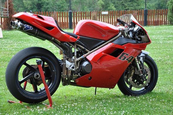 Predám Ducati 996