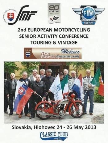 Hlohovec bude dejiskom európskej konferencie o motošporte seniorov