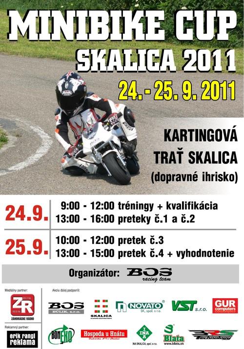 Minibike Cup Skalica – 24. a 25. 9.